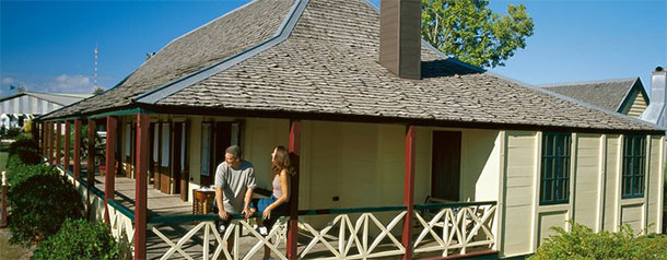 Emerald Accommodation - Capella Pioneer Village